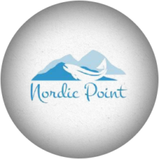 Image Calkins & Burke - Fresh, frozen and canned seafood supplier (salmon, tuna, halibut, prawns, oysters, crab, scallops). Nordic Point brand.