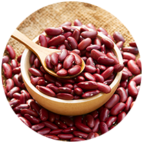 Photo Calkins & Burke - food supplier of canned dried organic beans, vegetables and fruit, cacao; quinoa, chia, coconut